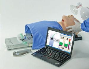 simulador para cuidados de emergência