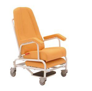 poltrona de descanso com apoio para pernas
