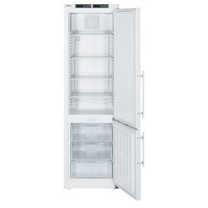 refrigerador de laboratório / vertical / combinado / com descongelação automática