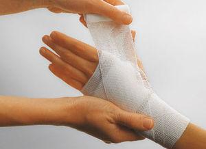 atadura ortopédica de compressão