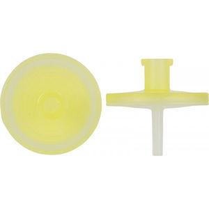 filtro hidrofílico / hidrófobo / para seringas / em PTFE