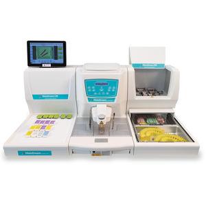 sistema automático de preparação de amostras semiautomático