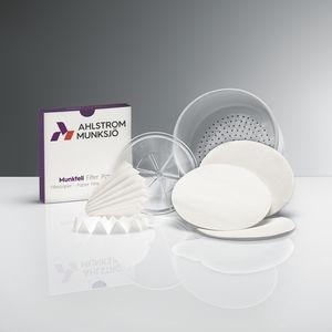 filtro para líquidos / de laboratório / de papel