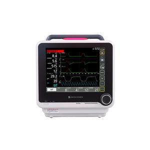 ventilador pulmonar mecânico / clínico / não invasivo / com rodízios