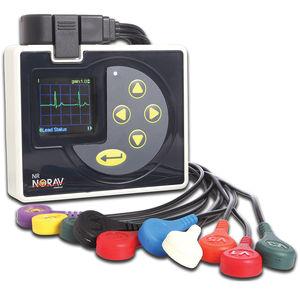 eletrocardiógrafo com conexão sem fio / para teste de esforço / 12 canais / para computador