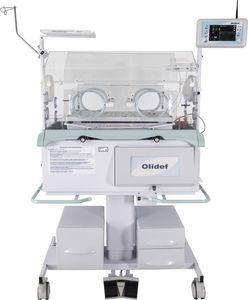 incubadora neonatal de altura regulável