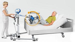 pedal exercitador para pernas / em decúbito dorsal