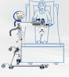 pedal exercitador para braços e pernas / em decúbito dorsal
