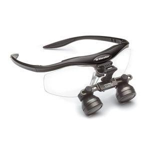 lupa binocular com armação