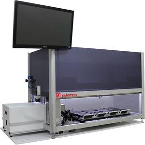 sistema de automação de laboratório para manuseio de tubos