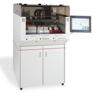 sistema de automação de laboratório destampador de tubos