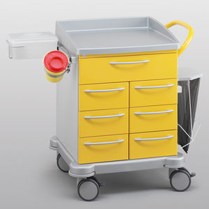 carrinho de curativos