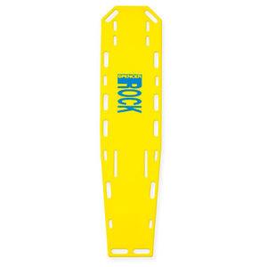 prancha de imobilização dorsal em material plástico