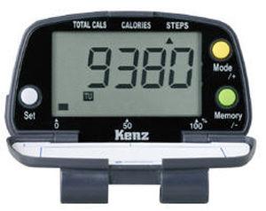 podômetro com contador de calorias