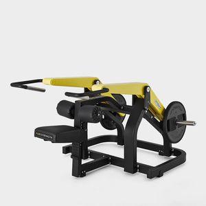 aparelho de musculação para fundos em posição sentada