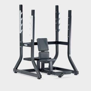 banco de musculação sentado / com suporte de halteres