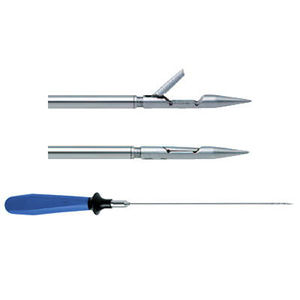 pinça laparoscópica / de sutura