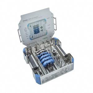 container para instrumentos cirúrgicos