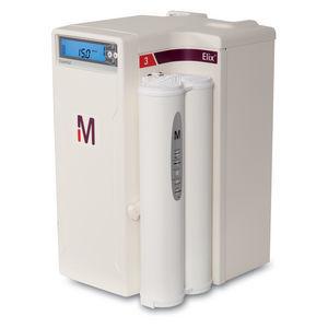 sistema de purificação de água de laboratório