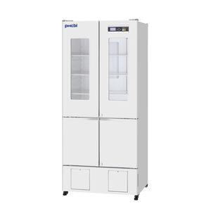 refrigerador para farmácia / vertical / 4 portas / com porta de vidro