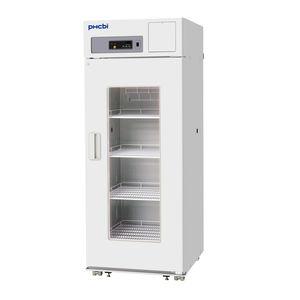 refrigerador de cromatografia / para farmácia / vertical / 1 porta