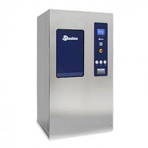autoclave hospitalar / de piso / com gerador de vapor / em aço inoxidável