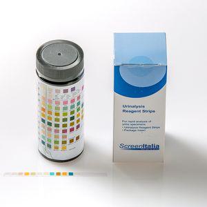 tira de teste para análise de urina