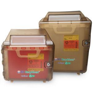 armário de segurança / coletor de lixo / para hospital