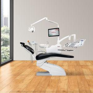conjunto odontológico com cadeira