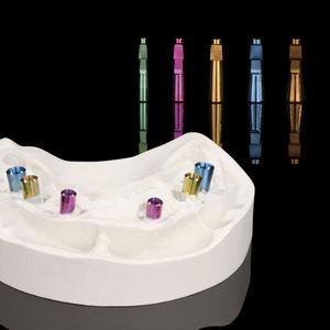 análogo de implante dentário reto