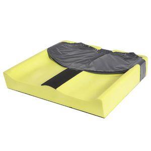almofada de posicionamento / de proteção / para cadeira de rodas / em espuma