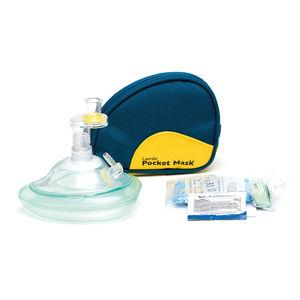 máscara de RCP para respiração boca a boca