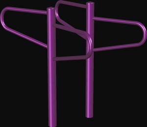 barra de alongamentos para ambiente externo