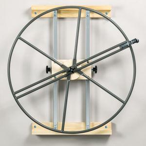 roda de ombro de parede