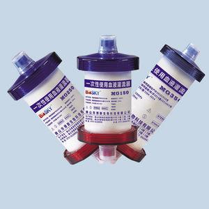 cartucho filtrante de sangue