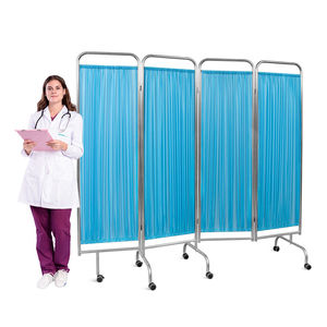 biombo hospitalar com rodízios