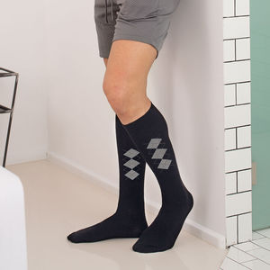 meias curtas de compressão