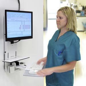 estação de trabalho informática hospitalar