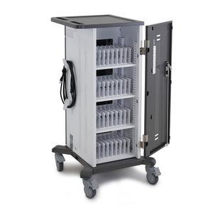 carrinho para computador para carregamento de tablets