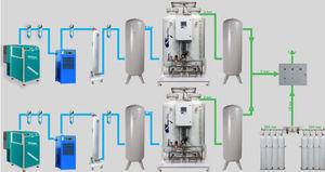 gerador de oxigênio fixo