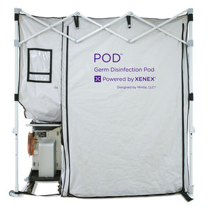 cabine de desinfecção de corpo inteiro