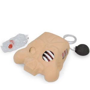 simulador de paciente de trauma / de pneumotórax / peito