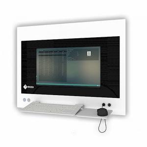 estação de trabalho informática para cirurgia