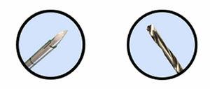 dispositivo para reparação de fraturas vertebrais com fresa