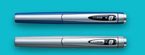 caneta lancetadora de insulina