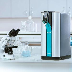 purificador de água de laboratório