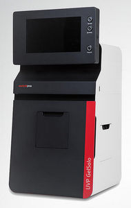 sistema de documentação de gel com câmera integrada