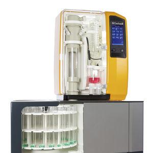 sistema de destilação tipo Kjeldahl / automático / para análise de proteínas / a vapor