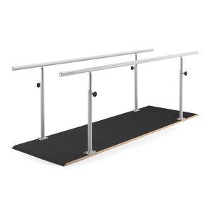 barras paralelas de reabilitação de altura regulável
