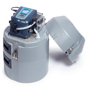 amostrador automático portátil